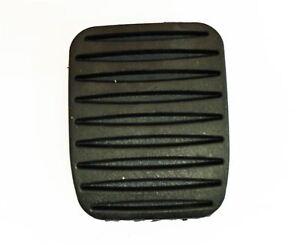 Par Original Vauxhall Freno / Embrague Goma Pedal Cubiertas/Pastillas (x2) - New