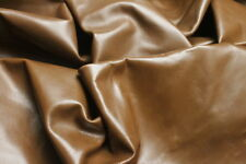 LEATHER HIDE COWHIDES UPHOLSTERY SKINS CRAFTS/  BROWN 17