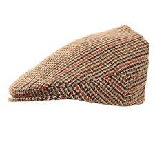 Homme Garçons Pays Tweed Plat Casquette Neuf