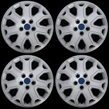 "4 New 2012 2013 2014 Ford Focus 16"" Wheel Covers Full Rim Hub Caps R16 Tire Size"