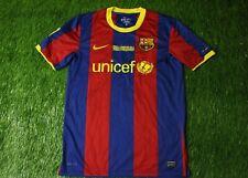 BARCELONA 2010/2011 FINAL LONDON 2011 FOOTBALL SHIRT JERSEY HOME NIKE ORIGINAL