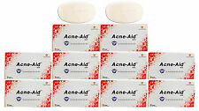 10 x 100g. STIEFEL ACNE AID SOAP BAR DEEP PORE CLEANSING PIMPLE OILY SKIN FACE