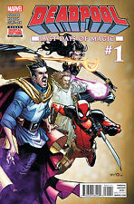 Deadpool AND Dr Strange Last Days of Magic #1. BOTH BOOKS TOGETHER FOR ONE PRICE