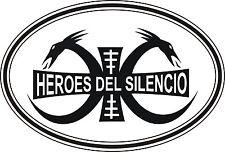 Parche imprimido, Iron on patch, /Pegatina textil/- Héroes del Silencio, Heroes