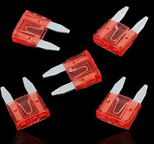 100pcs ATM Mini Fuses Auto Car Motorbike Boat Blade 10A 10Amp Electronic