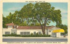 DAYTONA BEACH FLORIDA 1951 Johnston's Coffee Shop Roadside Eastern 3398