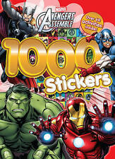 Marvel Avengers Assemble 1000 Stickers Activity book NEW!!!!