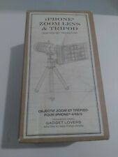 IPhone Zoom Lens & Tripod 4/4S/5