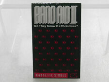Band Aid II - Do They Knows It's Christmas? Cassette Single Sealed