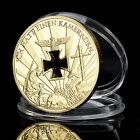 Nazi Germany, 1914-1945, Niemals Vergessen, Gold Plated coin Millionen Iron Coin