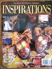 ~INSPIRATIONS Embroidery Smocking Magazine Issue # 4 - 1994 - VGC~