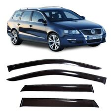 For VW Passat B6 Variant 2005-2010 Side Window Visors Rain Guard Vent Deflectors