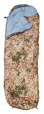 Army Schlafsack Extra Groß 230x80cm Farbe Tropentarn für Camping Outdoor Fan