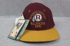 Vintage NEW Roman Washington Redskins 1970 Fitted Baseball Cap Hat Siz 7 1/4 NWT