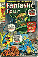 FANTASTIC FOUR #108, VF, Mega-Man, Jack Kirby, 1961, more FF in store, QXT