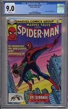 Marvel Tales #137 CGC 9.0 VF/NM Wp Marvel Comics 1982 Reprints Spider-Man in AF