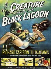 ADVERT MOVIE FILM CREATURE BLACK LAGOON CLASSIC CULT USA PRINT BB4658A