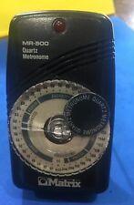Matrix Mr-500 Compact Quartz Metronome