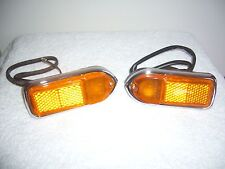 MG/MGB convertible parts, Lucas L824 Amber Front Side Marker Lamps--(LH+RH)