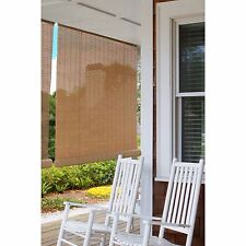 """Indoor Outdoor Bamboo Reed Blinds Roll Up Sun Shade Patio Porch Window 36"""" X 72"""