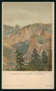 Mayfairstamps California Yosemite Valley Colored Postcard wwm83061