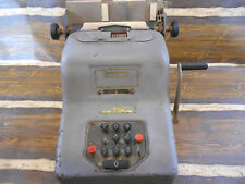 Vintage Antique Underwood Sundstrand Adding Machine Cash Register Calculator