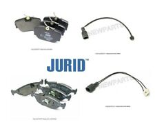 For BMW E30 318i 325iX 325i Front & Rear JURID Brake Pad Sets w/ Bowa Sensors