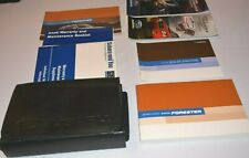 2006 SUBARU FORESTER OWNERS MANUAL GUIDE BOOK SET WITH CASE OEM