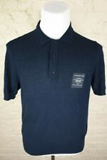 FRED PERRY X ART COMES FIRST Men's Knitted Polo Shirt Size: Medium VERY GOOD Con