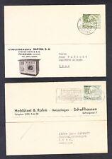 2 x Carte Postale Schweiz - Sarina S.A. / Hablützel & Rahm