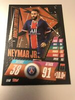 MATCH ATTAX 2020/21 NEYMAR JR BRONZE LIMITED EDITION LE4B