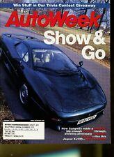 AutoWeek Magazine January 8, 2001 Jaguar XJ220, Ford Focus ZX3