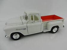 1:24 MOTOR MAX 1958 Chevrolet Step Side PICKUP TRUCK *WHITE* *DIECAST*