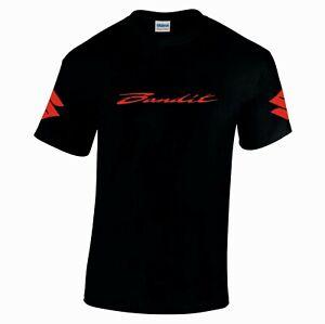 Suzuki bandit motorbike motorcycle tribute tshirt top size s-xxl