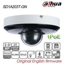 Dahua 2MP 3X PTZ IP Camera Starlight IR H.265 POE IP66 P2P TF IVS SD1A203T-GN