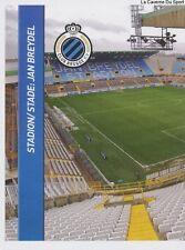 N°325 STADIUM JAN BREYDEL 1/2 # FC.BRUGGE FOOTBALL BELGIQUE 2014 PANINI STICKER
