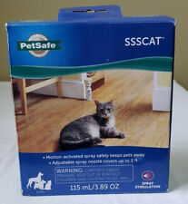 New listing PetSafe Ssscat Spray Deterrent Motion Activated Cat Dog Sealed Ppd00-16168