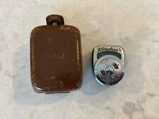 Vintage Kodak Kodalux L Miniature Light Meter With Case Working