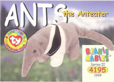 Ty Beanie Babies Bboc Card - Series 2 Common - Ants the Anteater - Nm/Mint