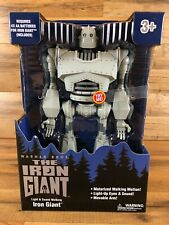 """The Iron Giant Light & Sound Motorized Walking Motion 14"""" Figure New in Box"""