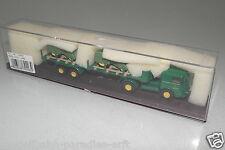 Brekina 1:87  79203 Büssing LS 11 Pritschen SZ mit 2 Lanz Traktoren OVP(EH3984)