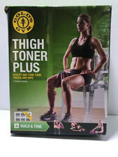 Gold's Gym Thigh Toner Plus New In Box Sculpt and Tone Thighs and Hips