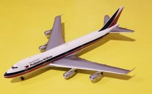 Big Bird 1:400 Philippine Airlines 747-200 Delivery Colors N742PR Rare
