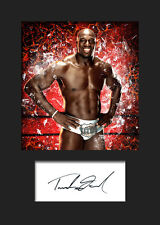 TITUS O'NEIL #1 (WWE) Signed (Reprint) Photo A5 Mounted Print - FREE DELIVERY