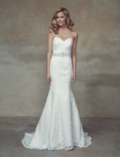 Mia Solano Lace Slim A-line Wedding Dress - Brighton | M1522L