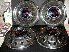 NOS Chevrolet 1967 Impala Super Sport Coupe and Convertible Full Wheel Cover Set
