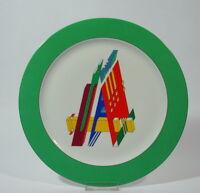Rosenthal Studio Linie Künstlerteller Wandteller Mondarini Buchstabe A Porzellan