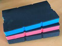 Koffereinlage Hart-Schaumstoff Sortimo L-BOXX Mini in 3 Farben 30mm, 3 Stck.