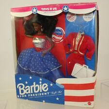 Mattel - Barbie Doll - 1991 Barbie for President Giftset (African American) *NM*