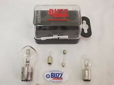 12V Bulb Kit Headlight Stop and Tail Side Light Speedo to fit Lambretta